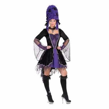 Dracula foute kleding jurk paars