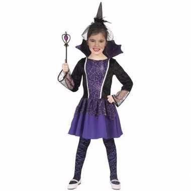 Dracula foute kleding jurkje paars voor meisjes