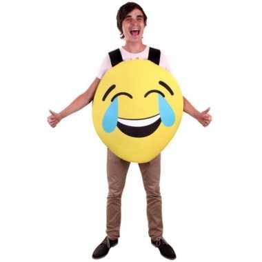 Emoticon foute kleding lachend voor volwassenen