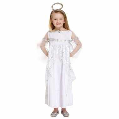 Engel kerst foute kleding foute kleding wit voor meisjes
