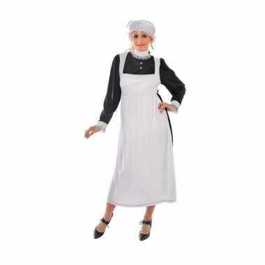 Engels dienstmeisje foute kleding