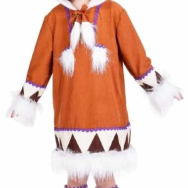 Eskimo foute kleding met laarshoezen voor meisjes