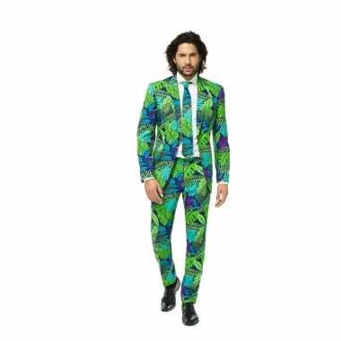 Feest foute kleding met jungle print
