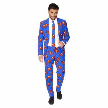 Feest foute kleding superman print 10059592