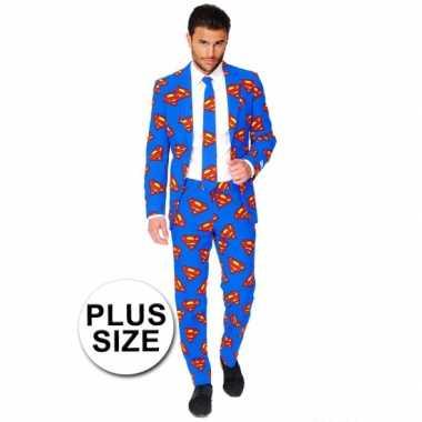 Feest foute kleding superman print