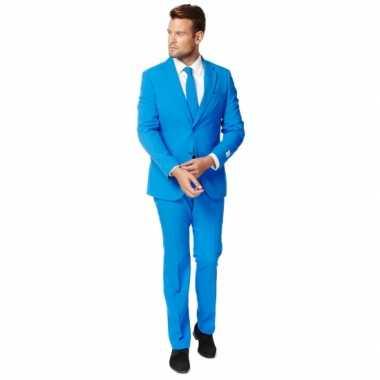 Fel blauw zaken foute kleding voor heren