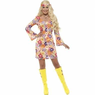 Flower power hippie dames sixties foute kleding