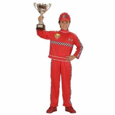 Formule 1 coureur foute kleding voor kinderen