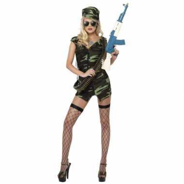 Foute armyprint jurkje kleding
