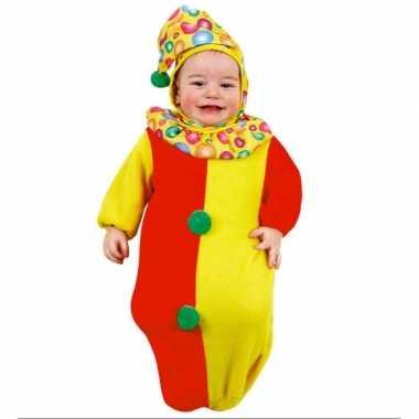 Foute baby pakje clown slaapzakje kleding