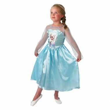 Foute blauwe frozen jurk voor kids kleding