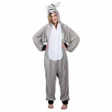 Foute canaval onesie ezel dames kleding