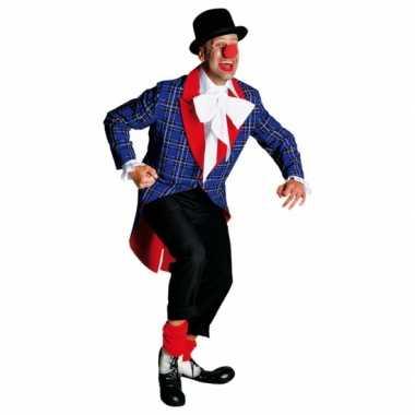 Foute clowns mantel voor volwassenen kleding