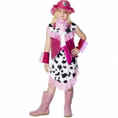 Foute cowgirl jurkje voor meiden kleding
