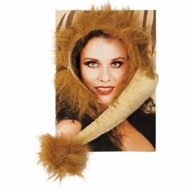 Foute dieren set leeuw kleding