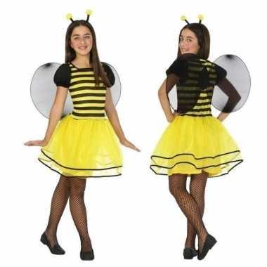 Foute dierenpak bij/bijen jurk/jurkje voor meisjes kleding