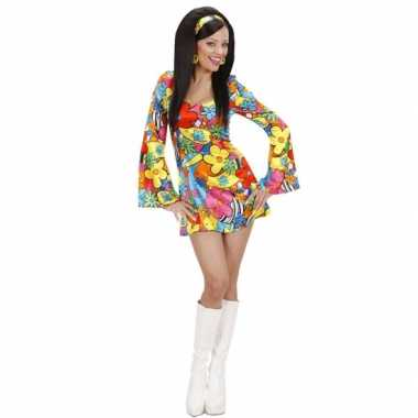 Foute flower power jurkje voor dames kleding