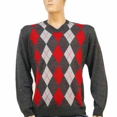 Foute gebreide klassieke heren trui kleding
