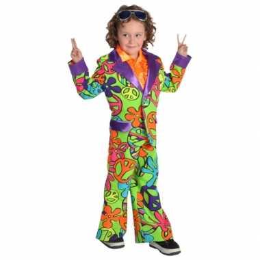 Foute gekleurd hippie pak voor jongens kleding