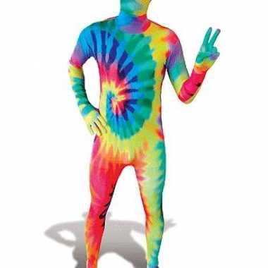 Foute gekleurde morphsuits kleding