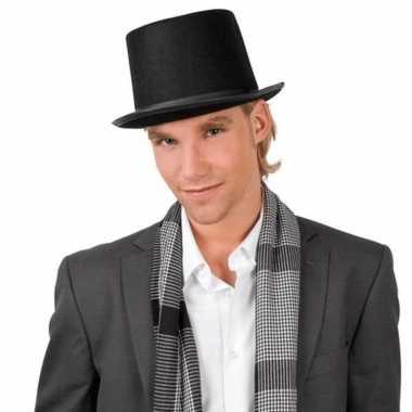Foute goochelaarshoed zwart voor volwassenen kleding