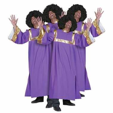 Foute gospel koor kleren dames en heren kleding