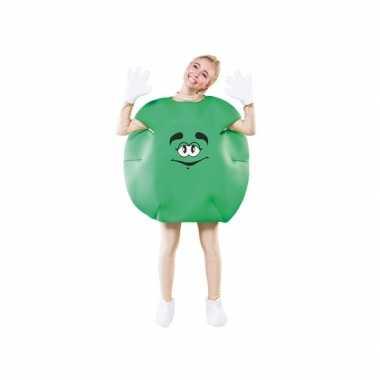 Foute groen snoep pak volwassenen kleding