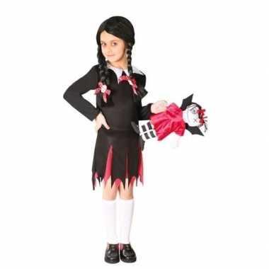 Foute halloween wednesday jurk voor meisjes kleding