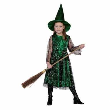 Foute heksenjurk met hoed voor kinderen kleding