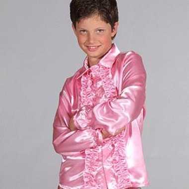Foute hippie rrouges blouse kinderen roze kleding