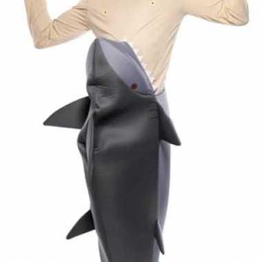 Foute jaws pak met haaienbek kleding