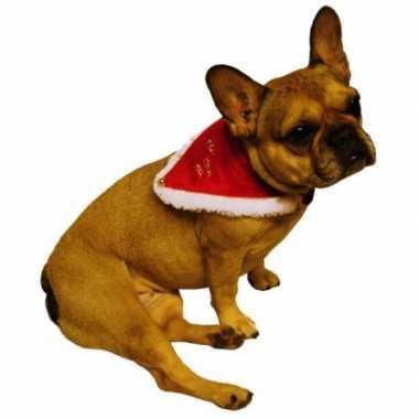Foute kerstmannen halsband voor huisdieren kleding
