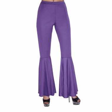 Foute kids hippie broek paarse kleding