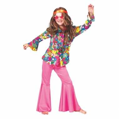 Foute kinder blouse gebloemd sixties kleding