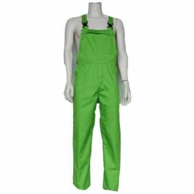 Foute kinder tuinbroeken groen kleding