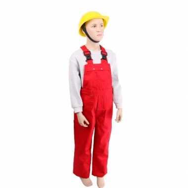 Foute kinder tuinbroeken rood kleding