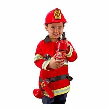 Foute kleding brandweer voor kids