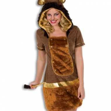 Foute kleding dames leeuw