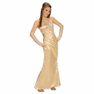 Foute kleding gouden jurk voor dames
