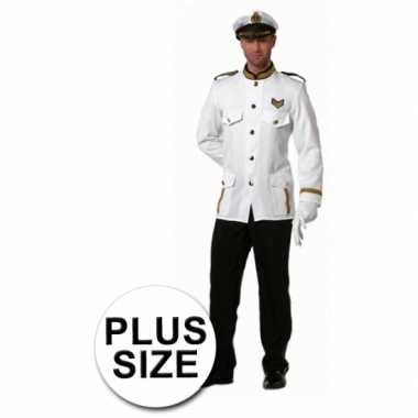 Foute kleding grote maten kapitein heren