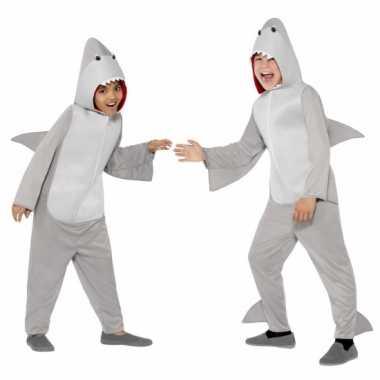 Foute kleding haai all in one voor kinderen