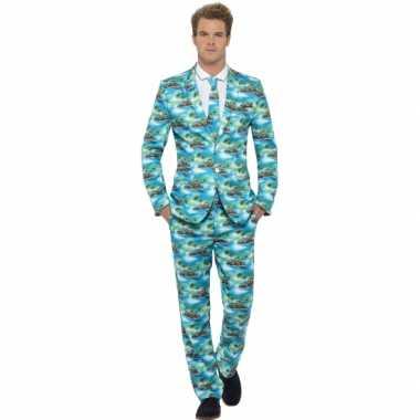 Foute kleding heren maatpak aloha