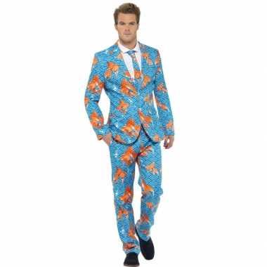 Foute kleding heren maatpak goudvissen