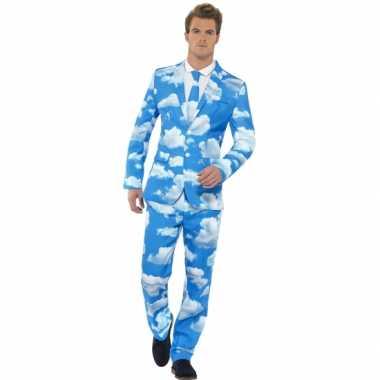 Foute kleding heren maatpak wolken