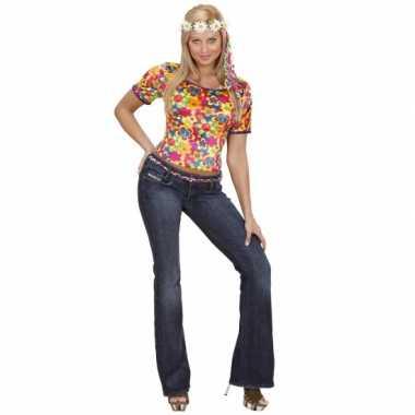 Foute kleding hippie shirt dames