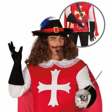 Foute kleding musketier accessoire volwassenen