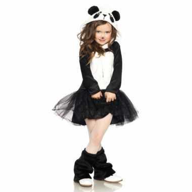Foute kleding panda jurkje voor meisjes