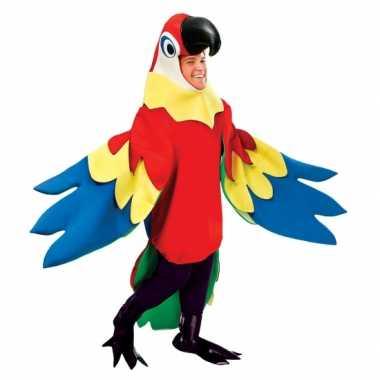 Foute kleding papegaai