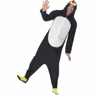 Foute kleding pinguin all in one voor volwassenen