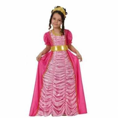 Foute kleding prinses roze voor meisjes
